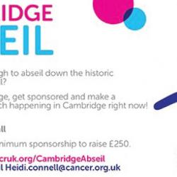 Read more at: Cambridge Abseil