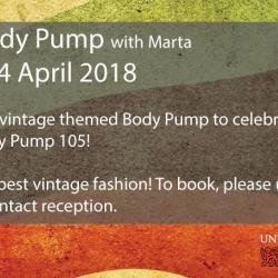 Read more at: Vintage Body Pump - Saturday 14 April
